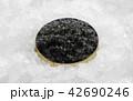 Black caviar in a bowl 42690246