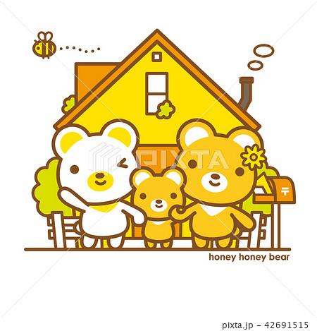ハニーハニーべあ 親子+家 42691515