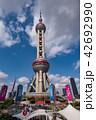 上海 上海タワー テレビ塔の写真 42692990