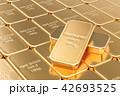金 黄金 金色のイラスト 42693525