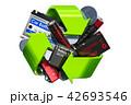 電池 バッテリー リサイクルのイラスト 42693546