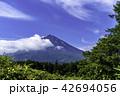 富士山 初夏 風景の写真 42694056