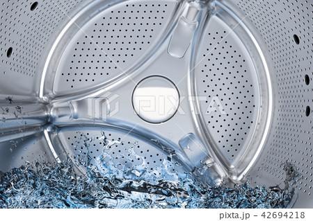 Inside washing machine, drum of front-loading 42694218