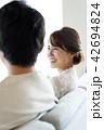 カップル 夫婦 ライフスタイルの写真 42694824