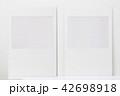 Blank white paper window board picture 42698918