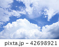 Beautiful dramatic cloud and blue sky  42698921