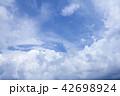 Beautiful dramatic cloud and blue sky  42698924