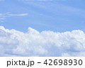 Beauty of light sky with mass clouds 42698930
