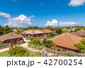 竹富島 集落 夏の写真 42700254