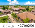 沖縄 竹富島の集落 なごみの塔から 42700259