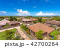 竹富島 集落 夏の写真 42700264