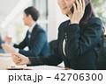 ビジネス スマホ 通話の写真 42706300