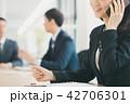 ビジネス スマホ 通話の写真 42706301