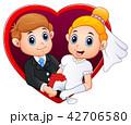 嫁 新婦 花嫁のイラスト 42706580