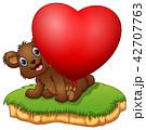 動物 バルーン 風船のイラスト 42707763