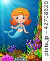 漫画 幼い 海のイラスト 42708620