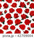 花 パターン 柄のイラスト 42709004