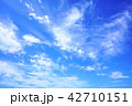 空 青空 雲 42710151