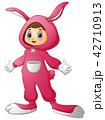 うさぎ 子 子供のイラスト 42710913