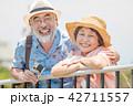 夫婦 シニア 老夫婦の写真 42711557
