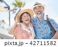 夫婦 シニア 老夫婦の写真 42711582