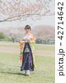 卒業袴 女性 春の写真 42714642