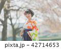 卒業袴 女性 春の写真 42714653