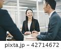 ビジネスウーマン ビジネス キャリアウーマンの写真 42714672