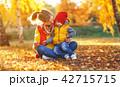 あき 秋 おかあさんの写真 42715715