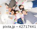 家族 人物 アジア人の写真 42717441