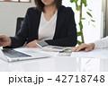 ビジネスシーン 女性 ビジネスの写真 42718748