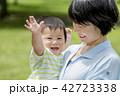親子 母親 赤ちゃんの写真 42723338
