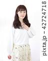 女の子 ヘアスタイル 美容院の写真 42724718