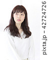 女性 ヘアスタイル ヘアケアの写真 42724726