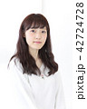 女性 ヘアスタイル ヘアケアの写真 42724728