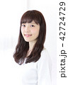女性 ヘアスタイル ヘアケアの写真 42724729