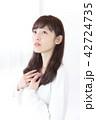女性 女の子 ヘアスタイルの写真 42724735