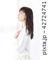 女性 女の子 美容院の写真 42724741