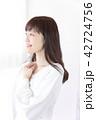 女性 女の子 ヘアスタイルの写真 42724756
