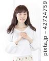 女性 女の子 ヘアスタイルの写真 42724759