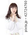 女性 ヘアスタイル ヘアケアの写真 42724760