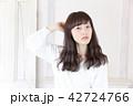 女性 女の子 ヘアスタイルの写真 42724766