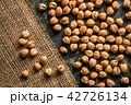 黄麻布 ヒヨコマメ ひよこ豆の写真 42726134