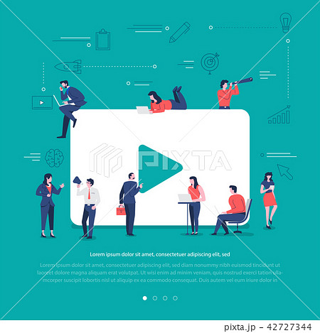 Social network teamwork 42727344