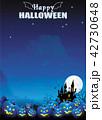 ハロウィン ハロウィーン 背景のイラスト 42730648