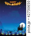 ハロウィン ハロウィーン 背景のイラスト 42730650
