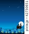 ハロウィン ハロウィーン 背景のイラスト 42730651