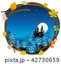 ハロウィン ハロウィーン 背景のイラスト 42730659