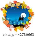 ハロウィン ハロウィーン 背景のイラスト 42730663
