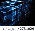 キューブ 立方体 アブストラクトのイラスト 42731029